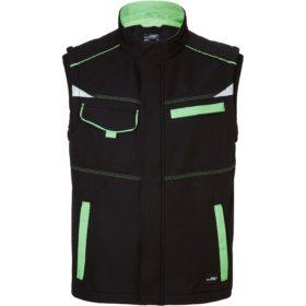 black/lime-green