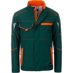 dark-green/orange